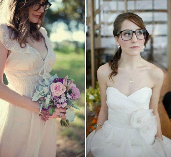 cb01087ad318a Lentes de contacto para novias que usan lentes de medida