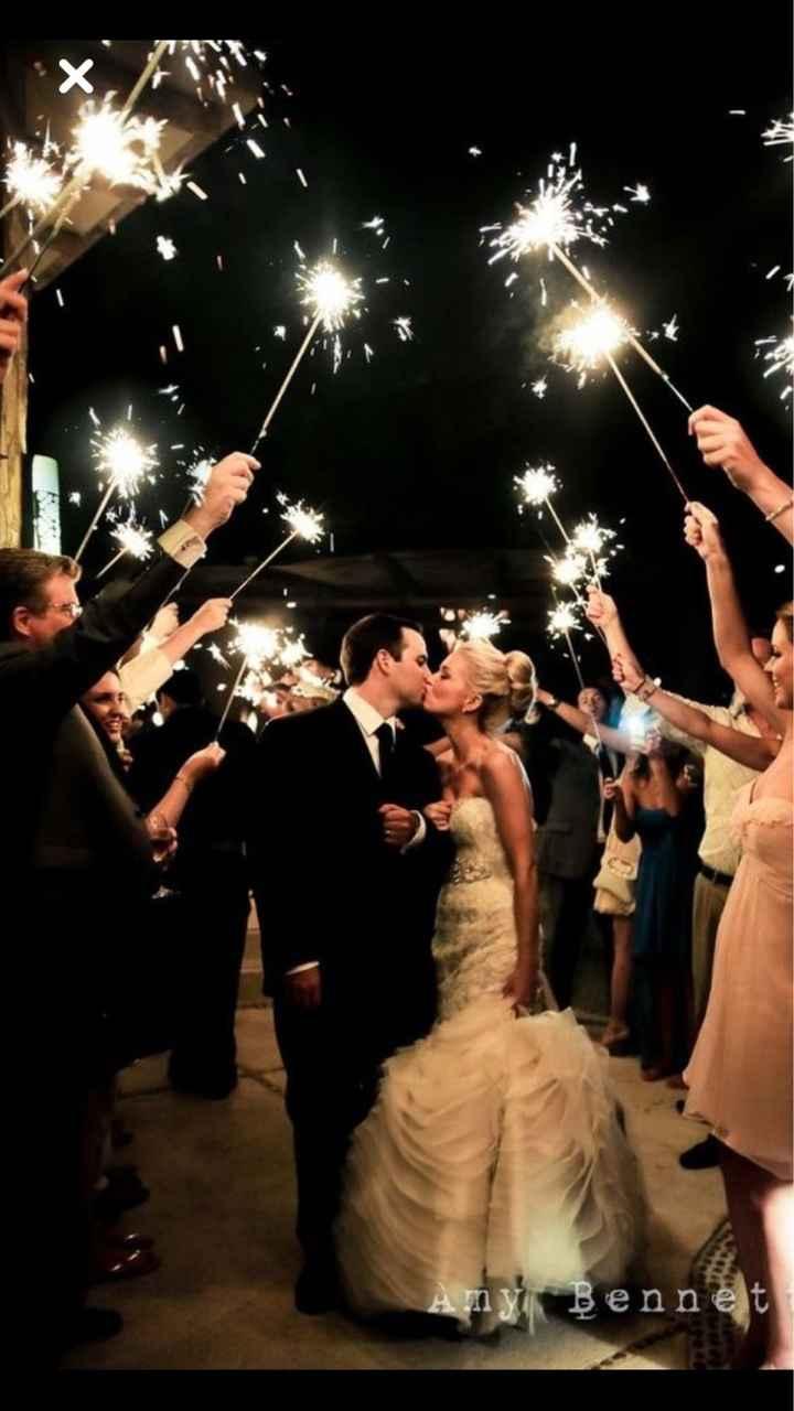 Chispitas - boda de noche - 2