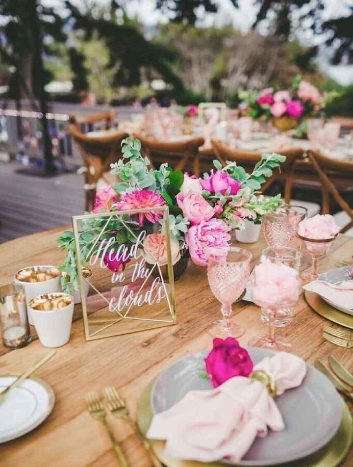 ¡Los centros de mesa! ¿Elegantes o Vintage? - 2