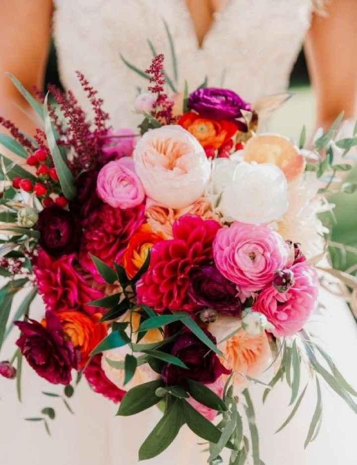¡El bouquet! ¿Elegante o Vintage? - 1