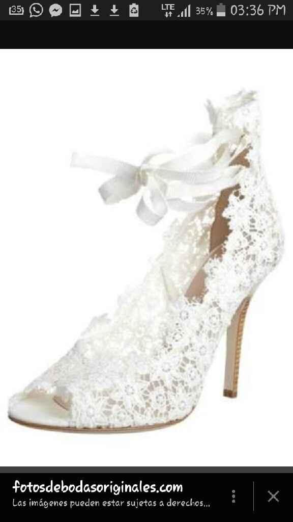 Zapatos de novia cómodos con encaje - 2