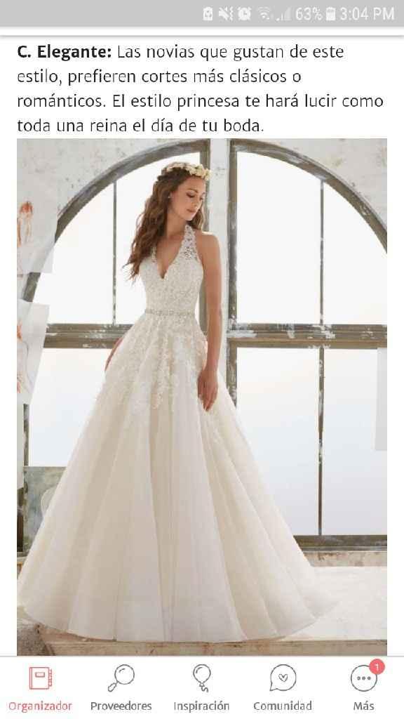 El estilo de mi boda es Elegante - 1