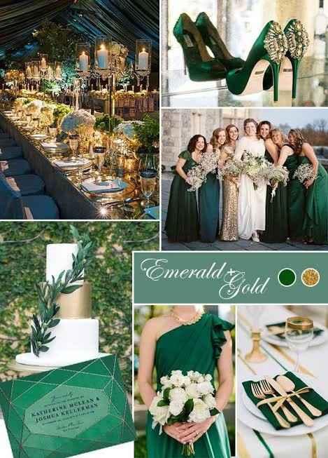 ¿Qué colores usarán en la decoración de su boda? 🎨 - 1
