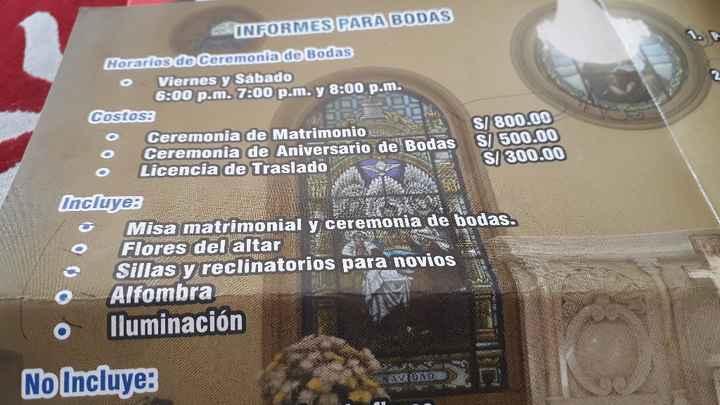 Iglesia que case día  Viernes - 1