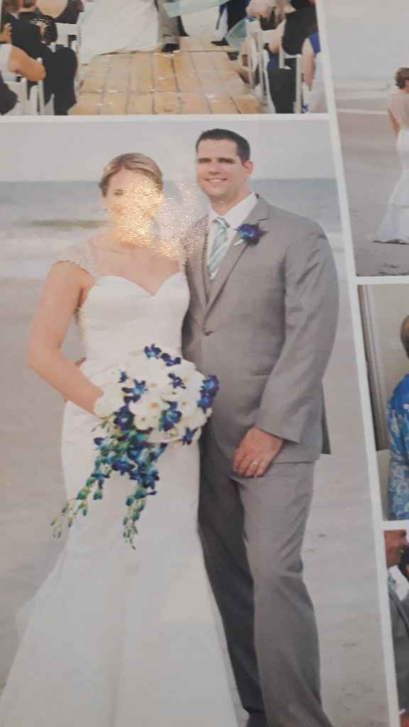 Mi boda en azul y dorado - 2