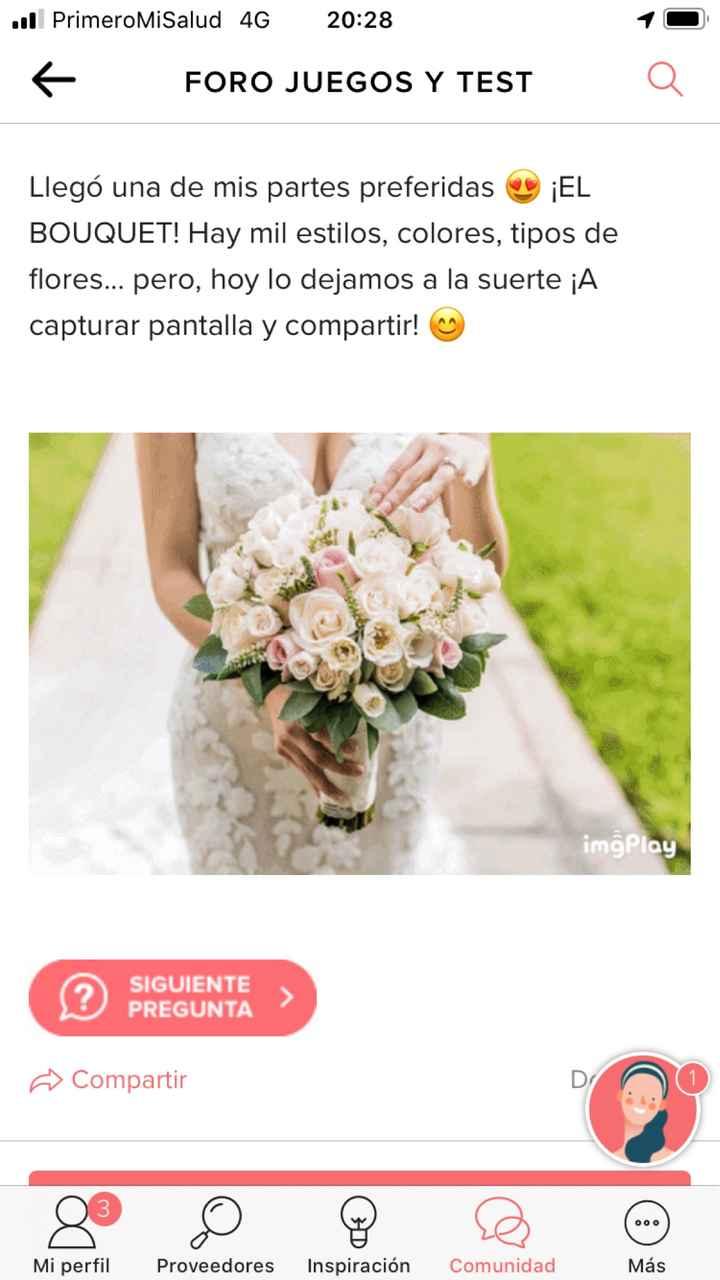 Descubre tu bouquet - 1