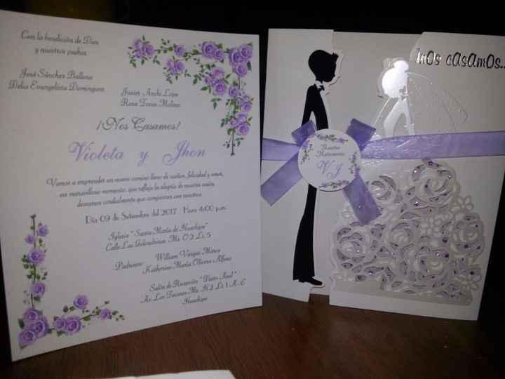 Mis invitaciones!!