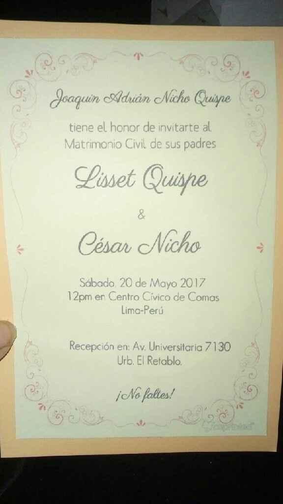 Mi boda civil c y l 20/05/17 👪 - 1