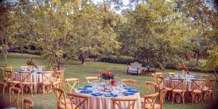 ¿Cuántas de ustedes se casarán en un jardín? - 3