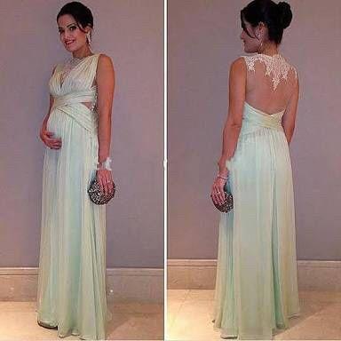 Vestidos para boda de noche para embarazadas