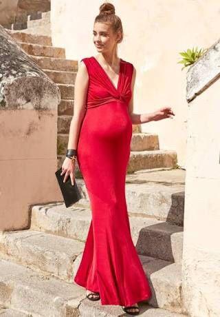 Vestidos fiesta largos - embarazadas - 5 0dd7d1b1d042