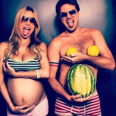 Ideas sesión de fotos embarazada - 5