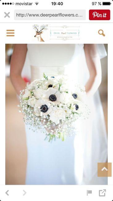 Flores de boda - anemonas - 3