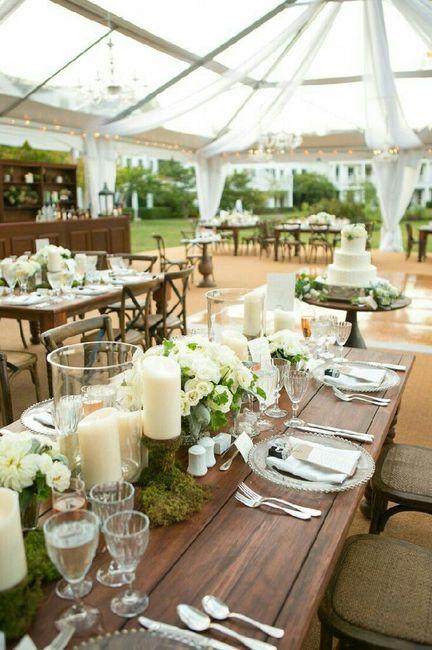Decoraci n de mesas estilo r stico for Decoracion estilo rustico