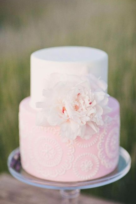 Pastel de boda mandala