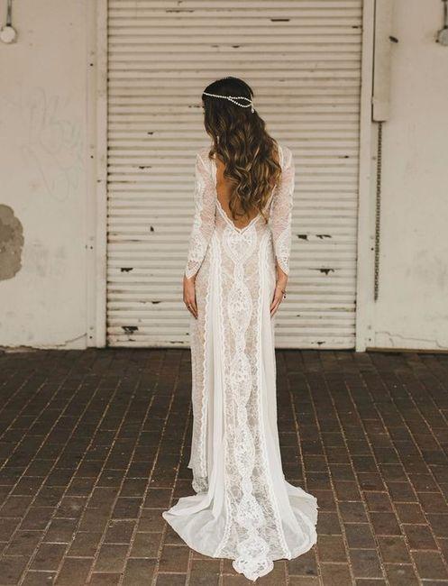 Vestido de novia Boda Bohemia 2 - Mandala