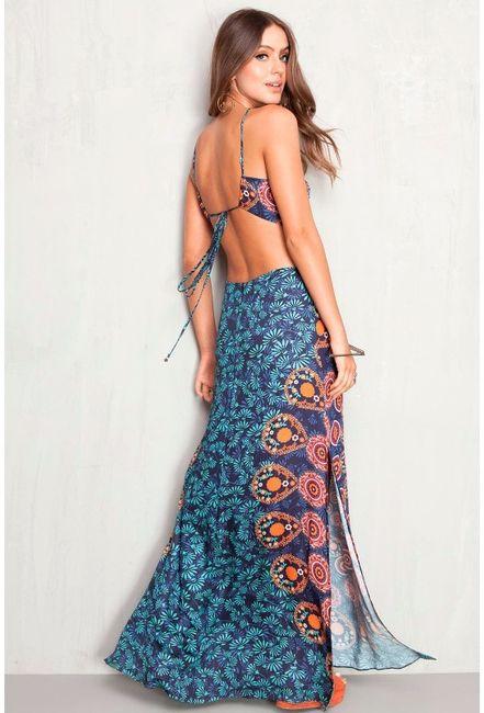 Vestido Damas 1 - Mandalas