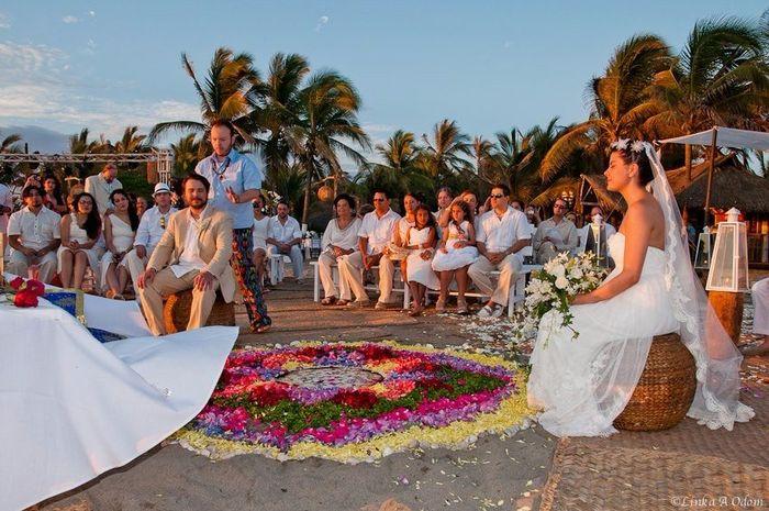 Celebración Bohemia - Mandalas flores