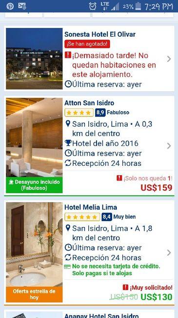 En búsqueda de hotel en san isidro - 1