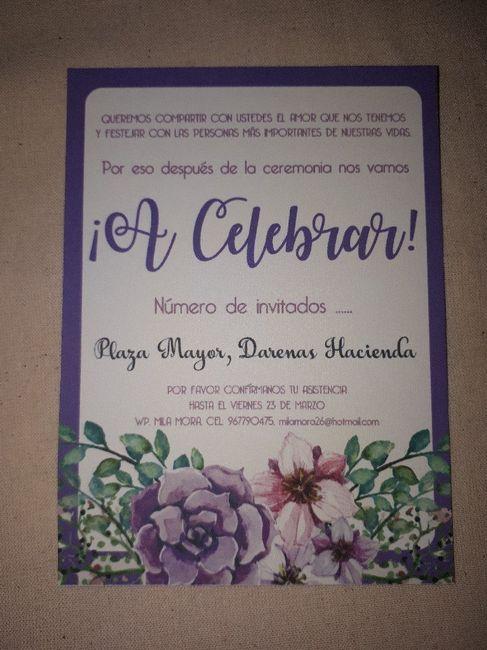 Nuestras Invitaciones 😊 4