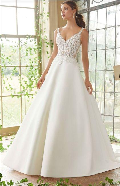 Lo mejor de mi look de novia es mi vestido. - 1
