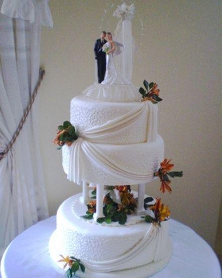 Esta será mi torta de bodas