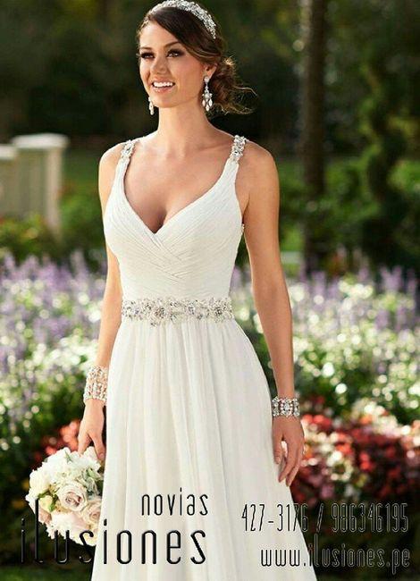 Vestidos y peinados para boda civil