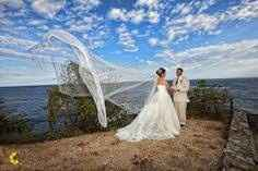 Debo llevar velo en una boda en la playa ? - 2