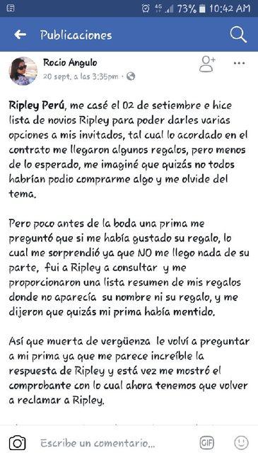 Ripley lista de Regalos¡¡¡ - 1