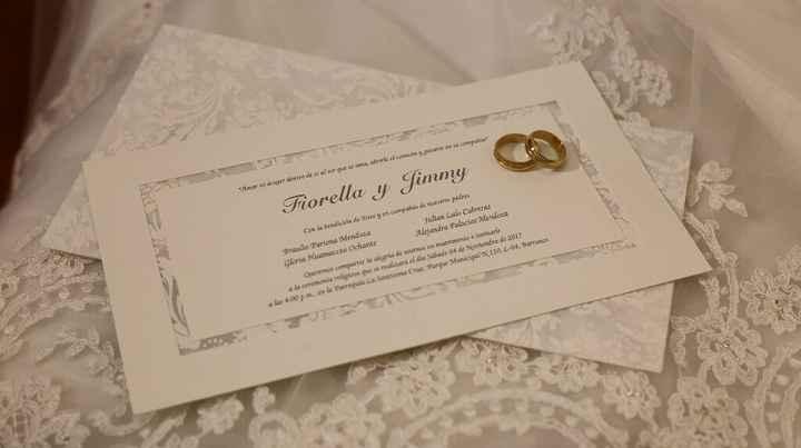 nuestra boda  4/11/2017 J&f 💏 - 3