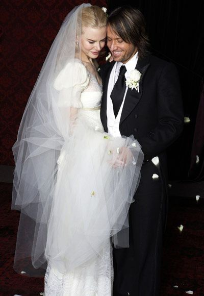 Nicole Kidman uso un diseño de Nicolas Ghesquiere para Balenciaga.