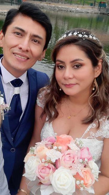 Novios que nos casamos el 14 de Diciembre de 2020 en Lima 1