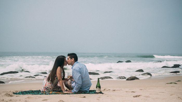 Preboda en la playa ❤🥰 3