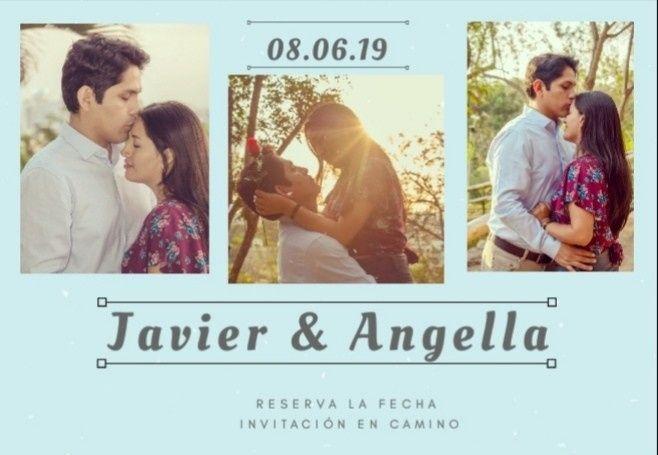 Anunciando nuestra fecha de boda-save the date 1