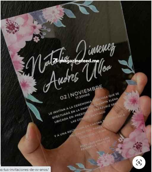 invitaciones de boda - 1