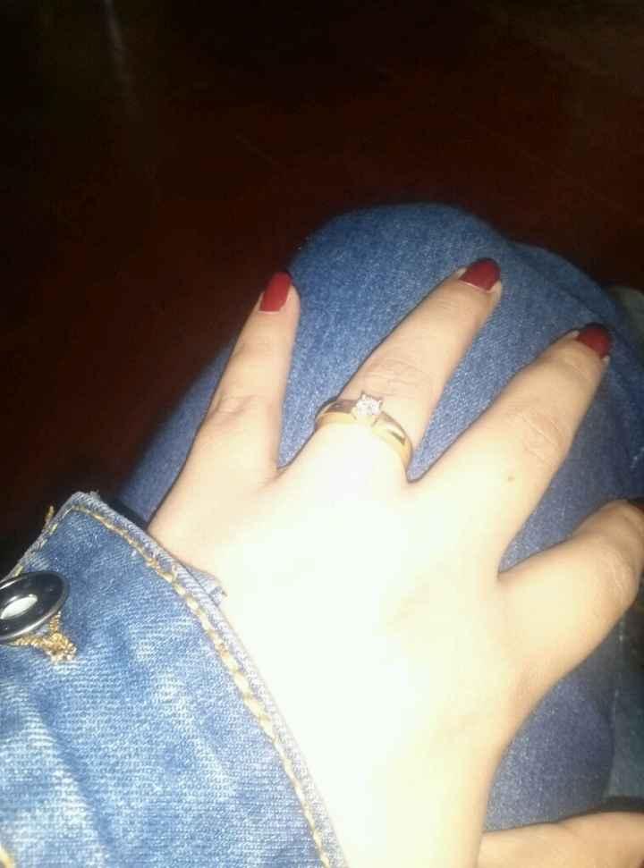 Cómo es su anillo de compromiso? - 2