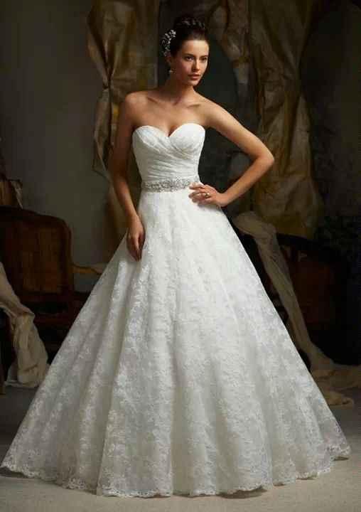 Se van a mandar a hacer o a comprar hecho su vestido de novia? - 1