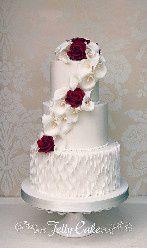 la torta elegante y sofisticada