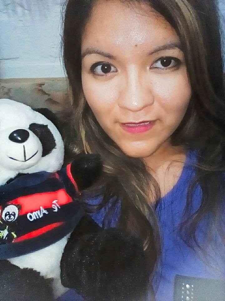 Con mi pandita...