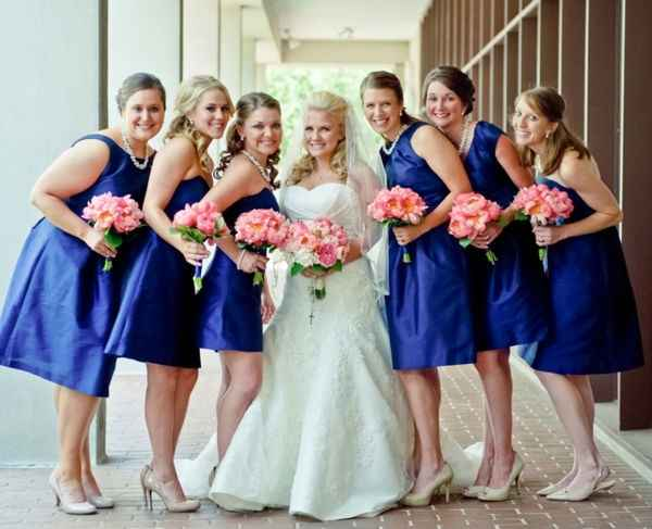 Damas azul
