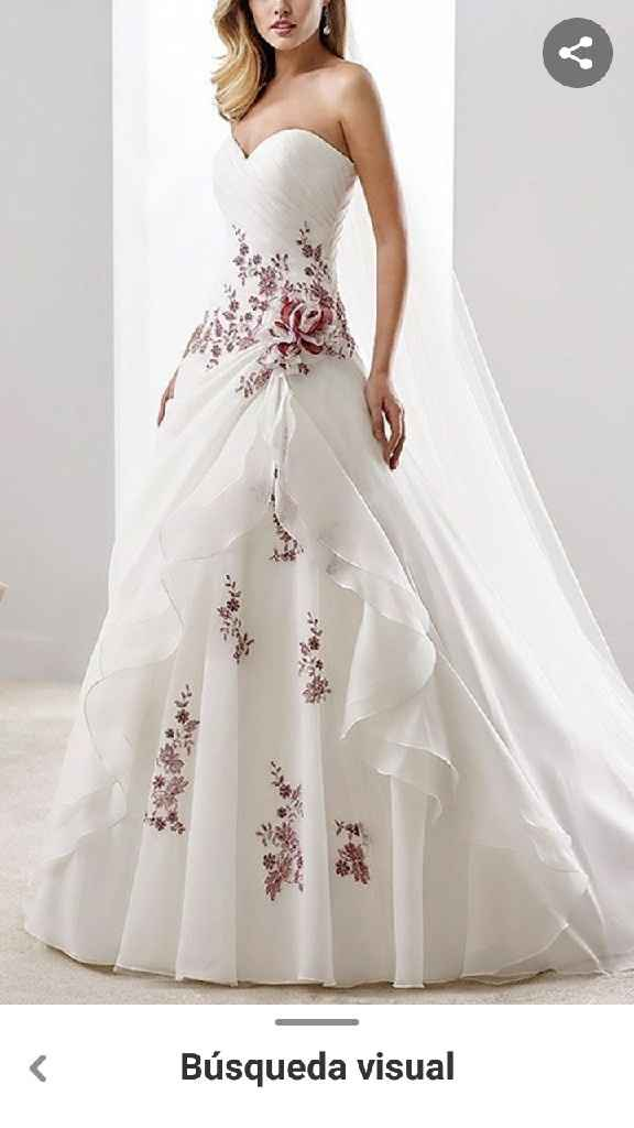 El vestido: ¿Full BLANCO o full COLOR? - 1