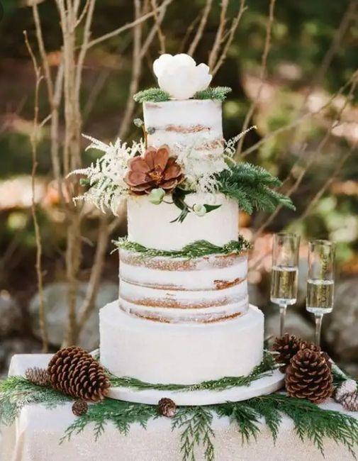 2 matrimonios, 2 tortas. ¿Cuál prefieres? 2