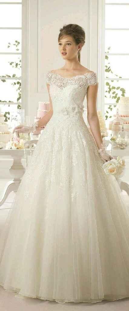 Tu vestido de novia con mangas o sin mangas - 1