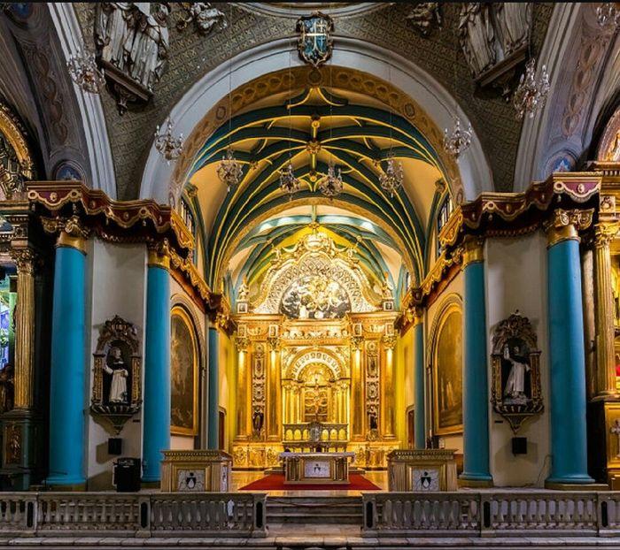 Ceremonia en iglesia santo domingo - lima - 3