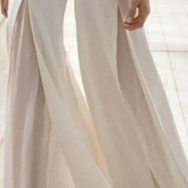 Traje blanco perla: Zapatos blancos o ivony?? 2