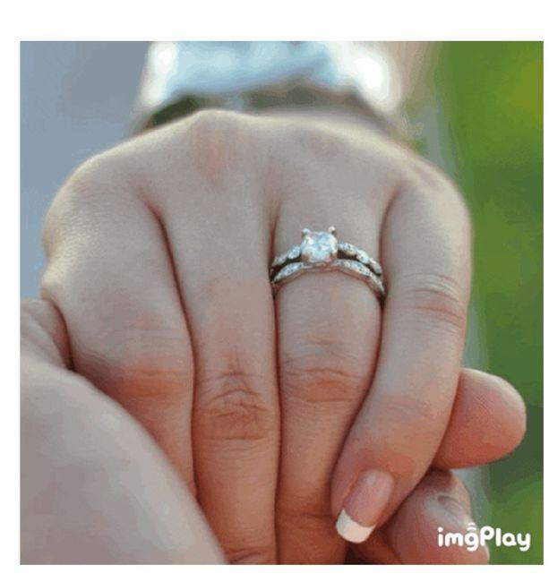 Ponle el anillo a la novia 💍  ¿Aciertas? 🤭 2
