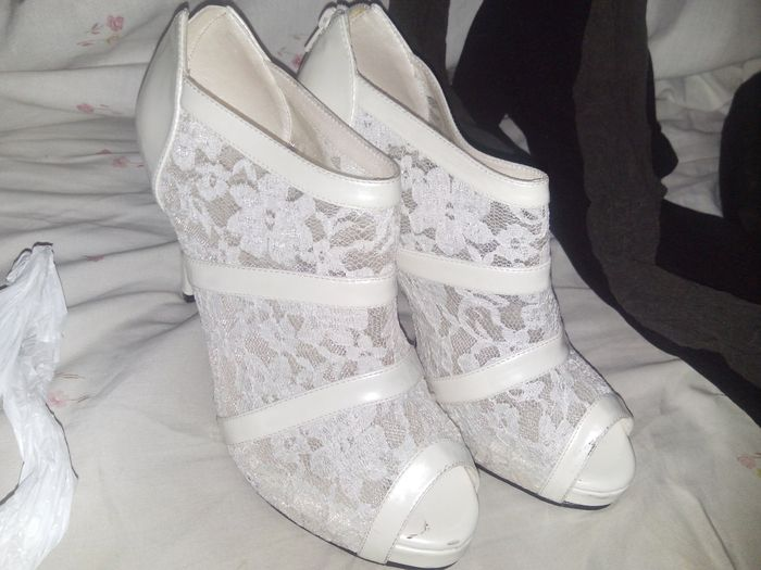 Mis zapatos de boda