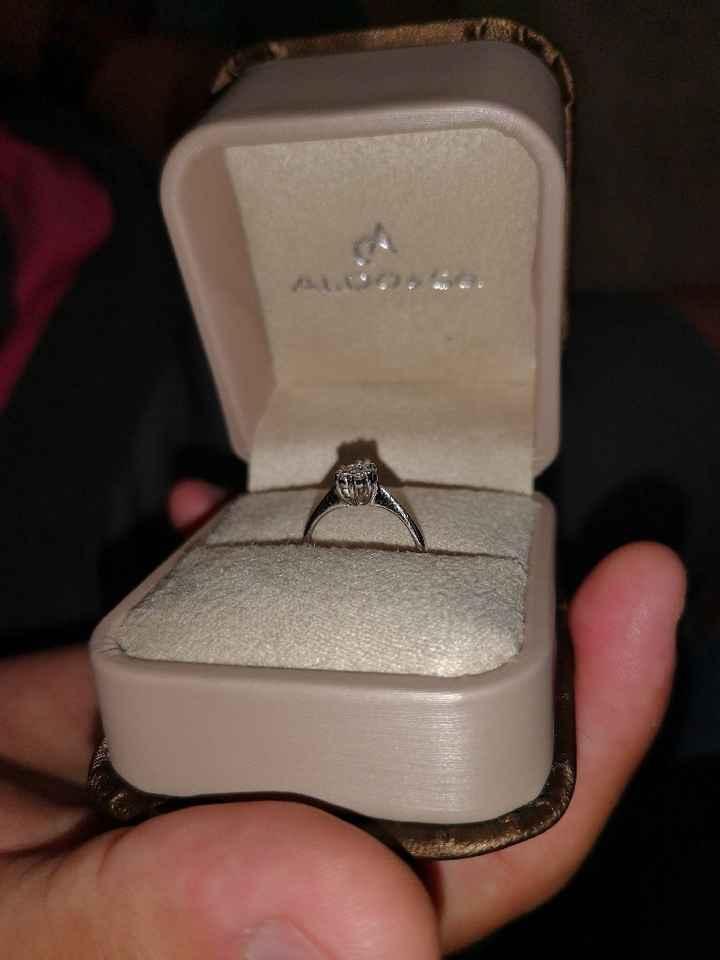 ¿Has mirado anillos de compromiso antes de la pedida? - 2