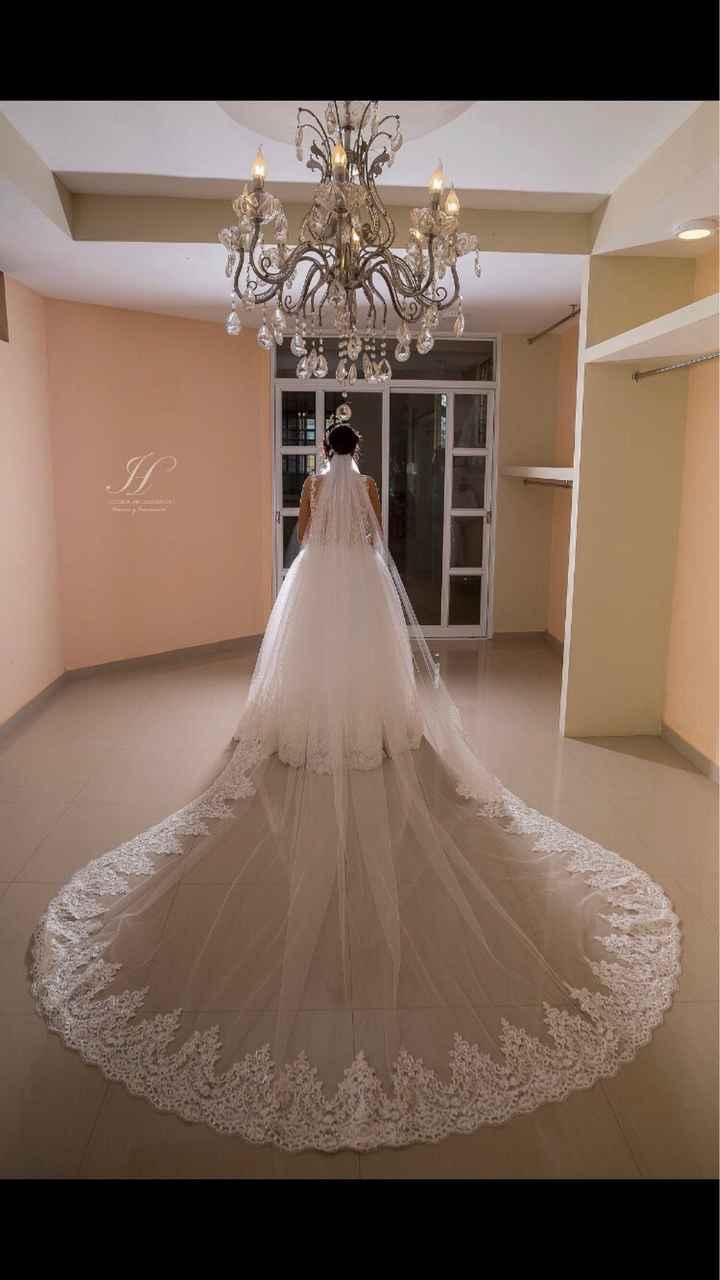 ¿Qué tan larga será la cola de tu vestido? - 1