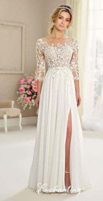 a solo 47 dias y recién mande a confeccionar mi vestido de novia! 1